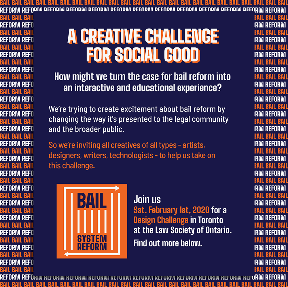 Bail 101 Creative Challenge Poster